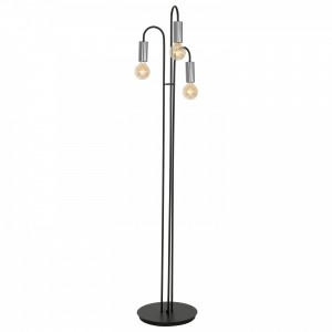 LOPPE black-chrome podłogowa 0603 Luminex