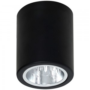 DOWNLIGHT round black 7235 Luminex