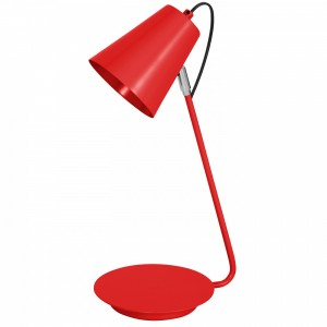 TABLE LAMP red 8301 Luminex