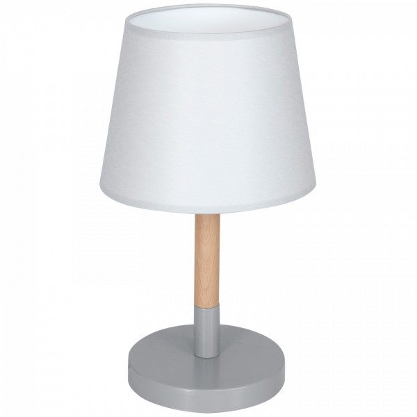 TABLE LAMP white-wood